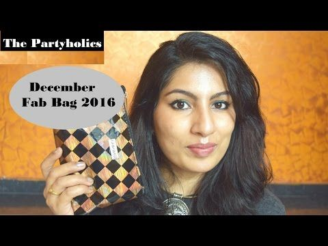 December Fab Bag 2016: The Partyholic - Beauty And Makeup Matters
