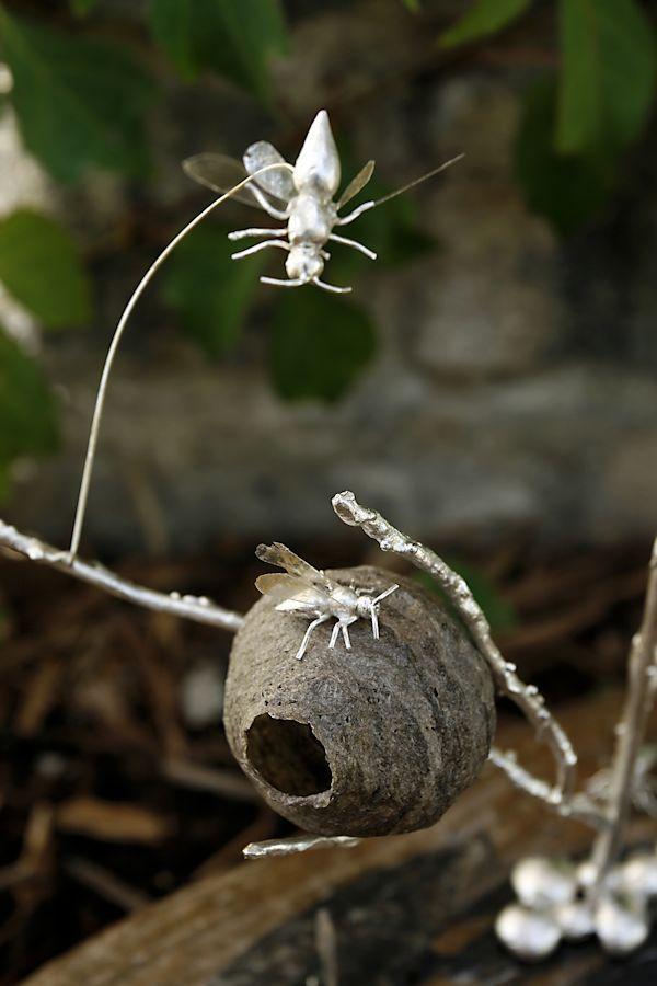 The Hornet's Nest-Detail by Julie Sanford, via Behance