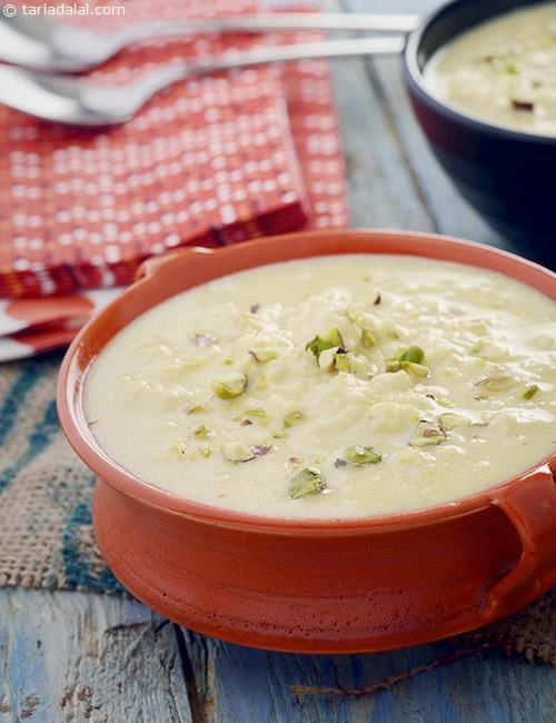 Shahi Rabdi ( Microwave Recipe) recipe | Indian Microwave Recipes | by Tarla Dalal | Tarladalal.com | #4935