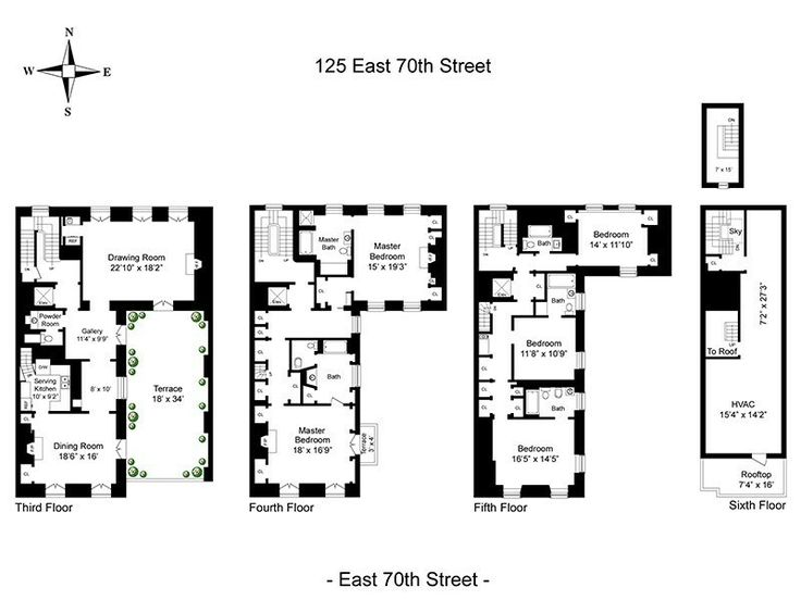 17 Best Images About Architecture Floor Plans On