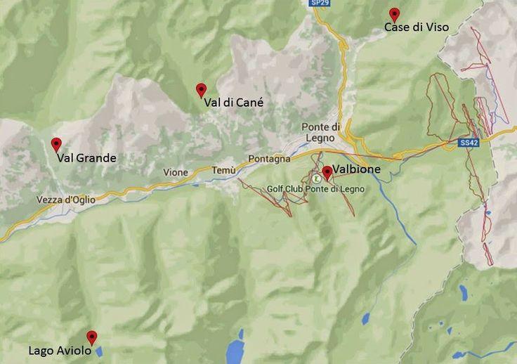 Escursioni in Alta Valle Camonica - Excursions in Alta Valle Camonica