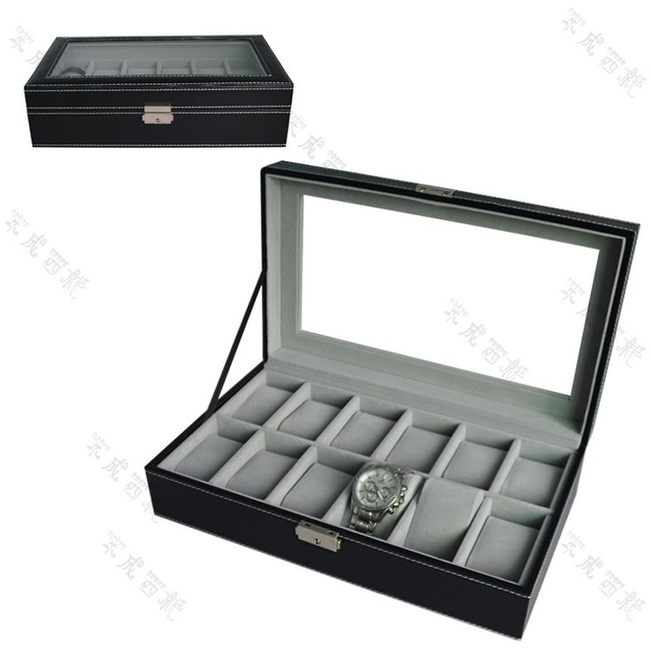 42.84$  Buy here  - High grade 12 - style watch box jewelry box in the long - staple table box display display small pillow watch box wholesale