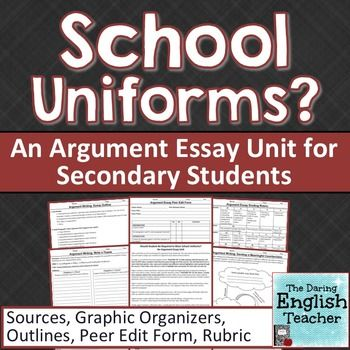 debating essay on school uniforms Summit hills elementary proposed the idea of school uniforms to parents the issue has caused a heated debate.