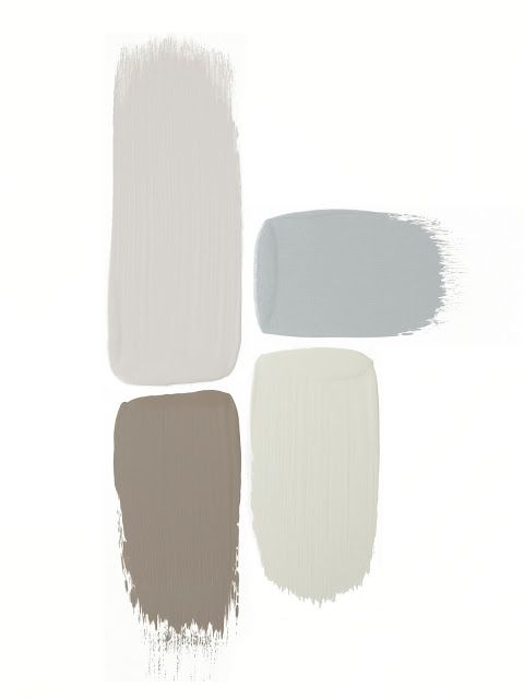 gray hues - paint ideas