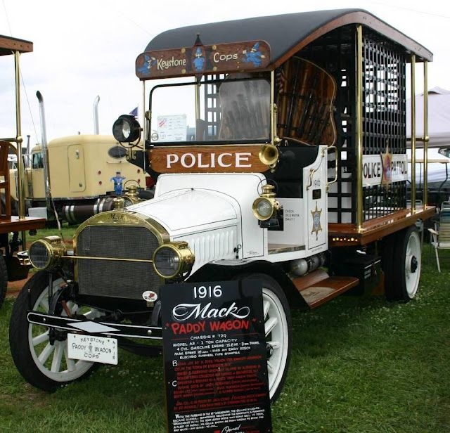 1916 Mack Paddy Wagon