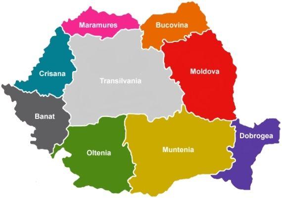 Harta Romania Regiuni Contact With Images Romania Travel