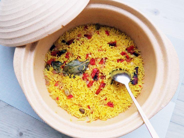 Saffron Tomato Basmati Rice