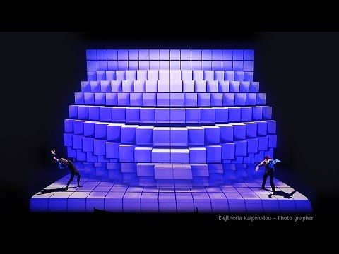 (1) RE_ACT audio - visual dance performance - YouTube