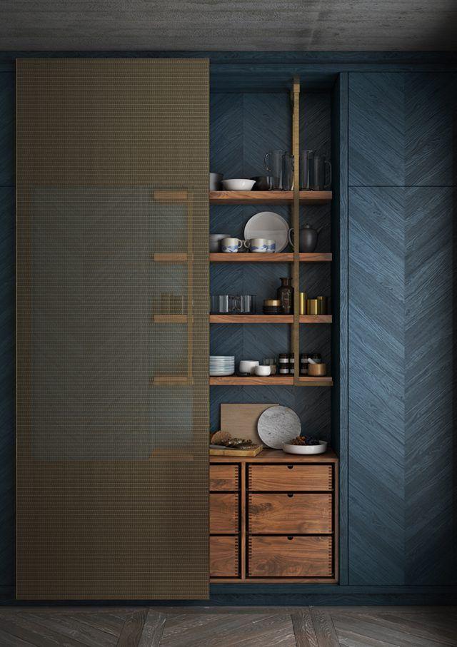 Lanserring - sliding door | kitchen joinery