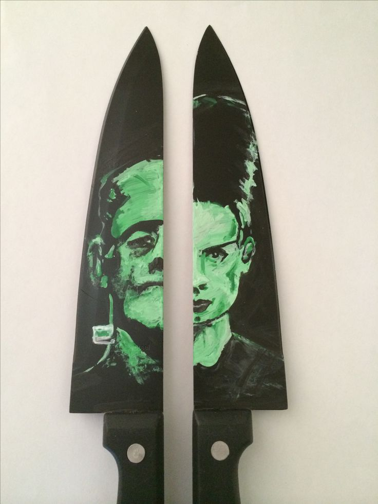 Frankenstein and the bride of frankenstein. My sis would love these
