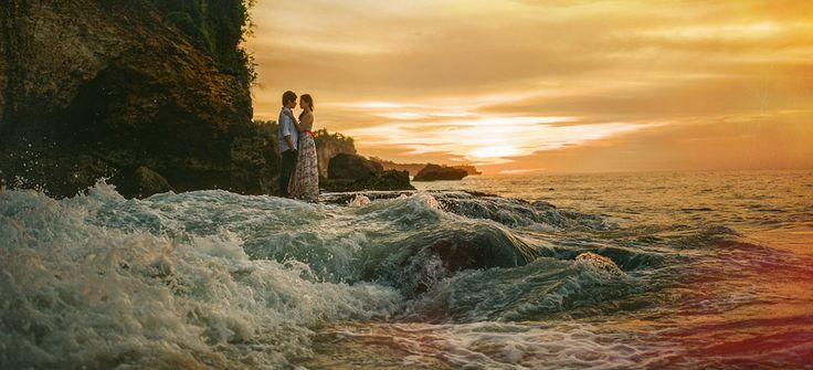 "Another amazing shoot by the boys at Nordica! Check out that opening shot. Wow! → ""Ayana Resort & Spa Bali Wedding"""