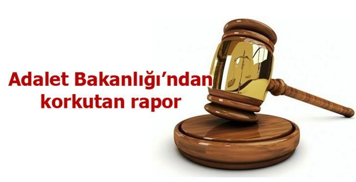 Adalet Bakanlığı'ndan korkutan rapor