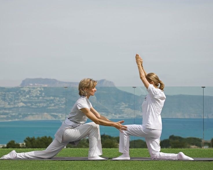Receive expert yoga advice get healthy on a wellness holiday at SHA Wellness Clinic in Spain