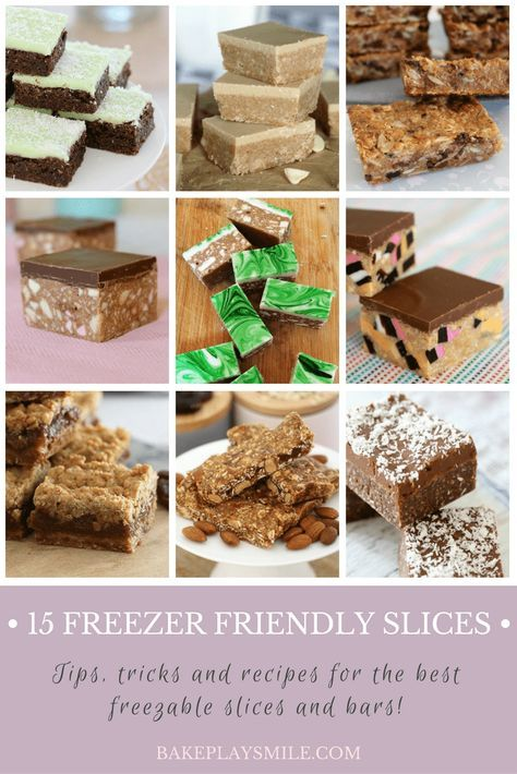 15 Freezer Friendly Slices (the very best ones!) - Bake Play Smile