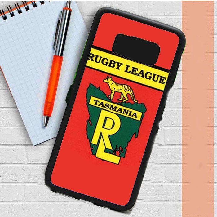 Rugby League Tasmania Red Samsung Galaxy S8 Plus Case Casefreed