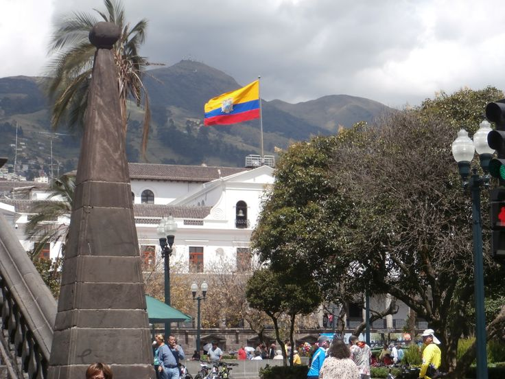 Quito main square old town