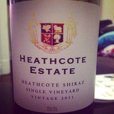 Heathcote Estate 2011 Single Vineyard Shiraz