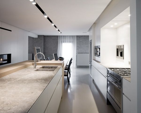 Warm Loft Apartment In Antwerp By Dennis Tu0027Jampens Architectural Projects