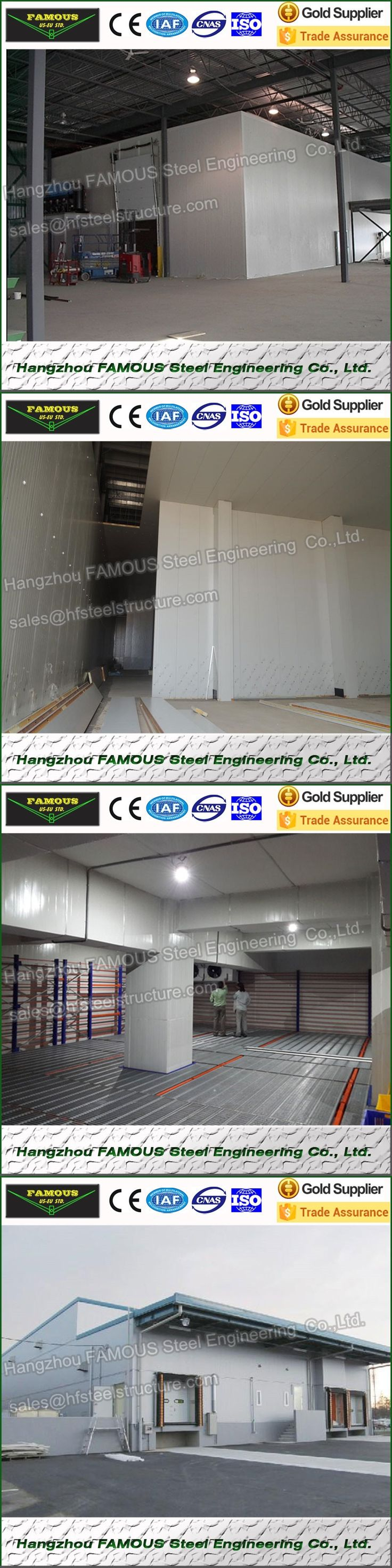 China manufacture industrial blast freezers, refrigeration freezing cold room for vegetables, cold room panel price and cooler