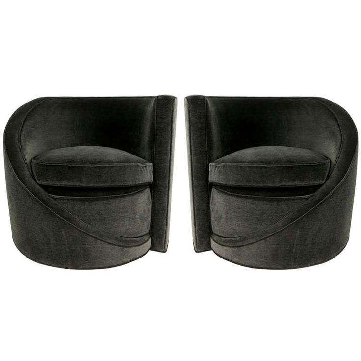 Pair Of Spiral Lounge Chairs   These Chairs Inspired And Pre Date Similar  Designs By
