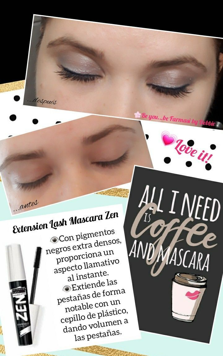 Farmasi Zen Extension Lash Mascara Extension Farmasi Farmasimascarazen Extiende Las Pes Mascara Lashes Lash Extensions Lashes
