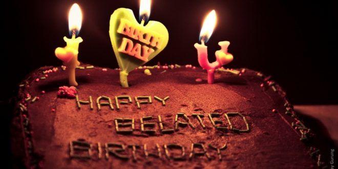 صور كيك عيد ميلاد رمزيات كيك لأعياد الميلاد ميكساتك Birthday Candles Happy Belated Birthday Belated Birthday
