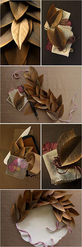 gold garland idea..