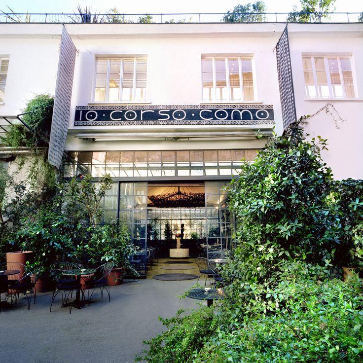 10 Corso Como - lite 90's känsla men spretigt och generellt bra utbud. Namnet är adressen