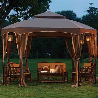 Wilson And Fisher 10 X 12 Windsor Dome Gazebo Images
