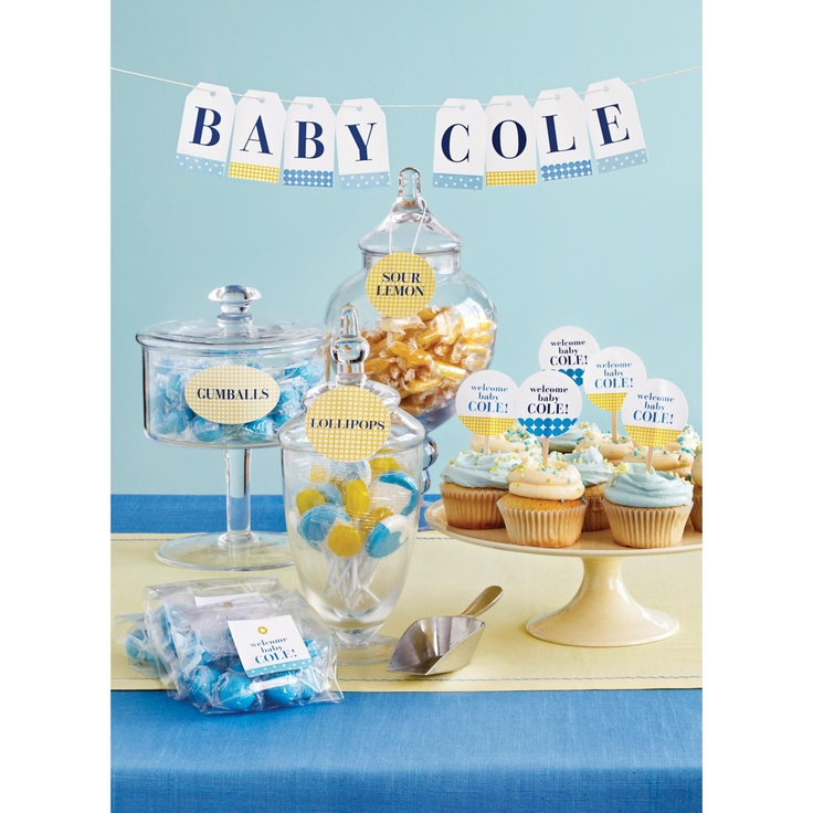 Host A Beautiful Baby Shower With With Free Martha Stewart Printables For  Avery Labels.