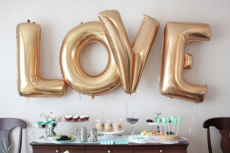 LOVE these balloons from Confetti And Sparkle Party Shop