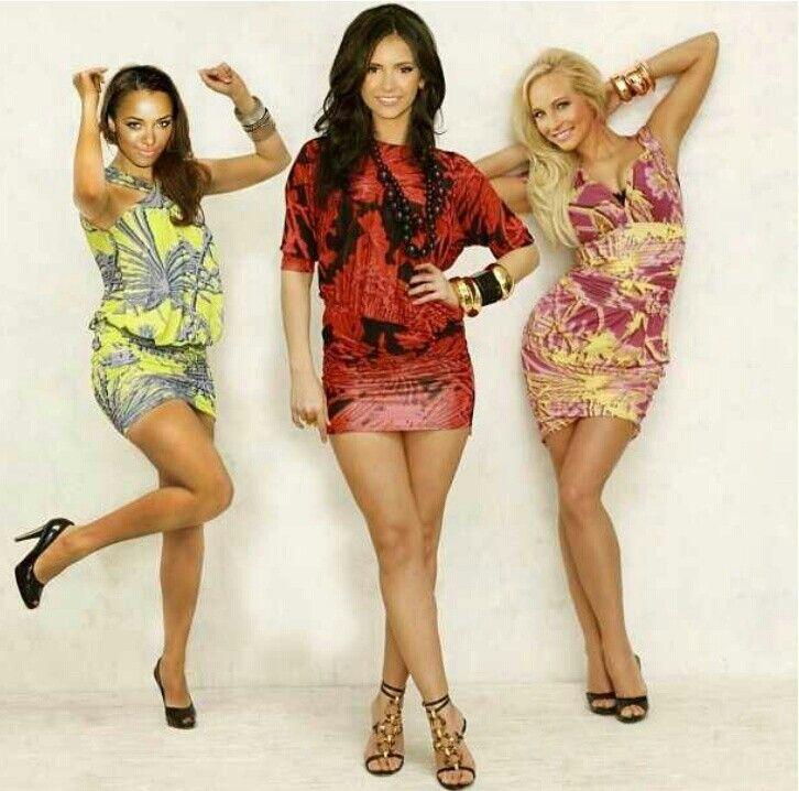 Kat Graham, Nina Dobrev, Candice Accola | TVD | Pinterest ...
