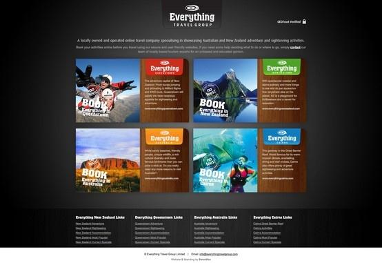 Everything Travel Group - Portal Website