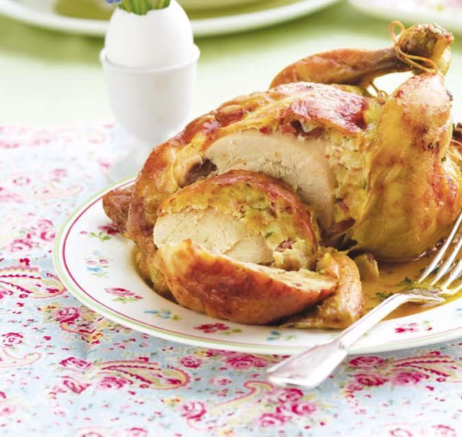 Pečené kuře s nádivkou (www.albert.cz/recepty)