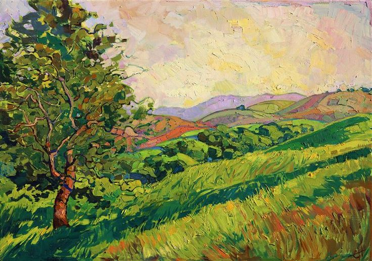 1197 best artwork landscape images on pinterest for Abstract impressionism definition