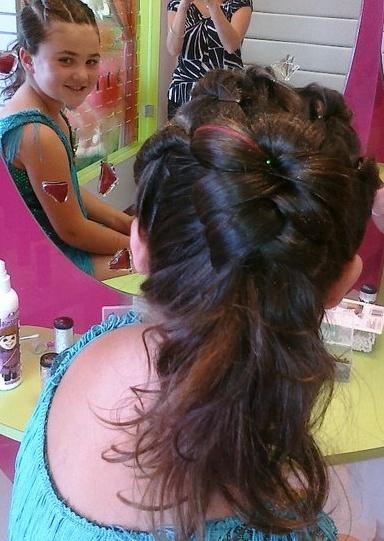 Astounding 17 Best Images About Little Girls Hairdos On Pinterest Updo Hairstyles For Men Maxibearus