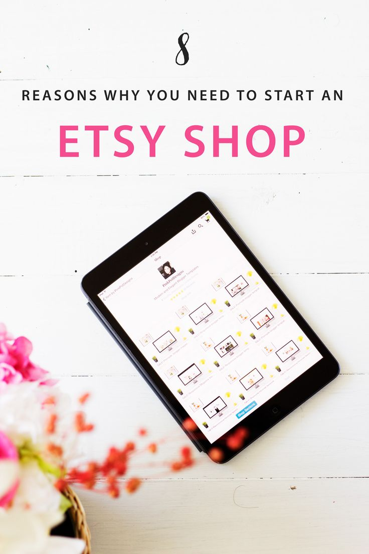 Benefits and Uses of starting an etsy shop for your business, learn why etsy may be an amazing starting point for your business!