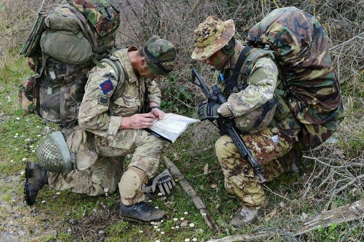 Reconnaissance Troops From The British Army 16 Air Assault