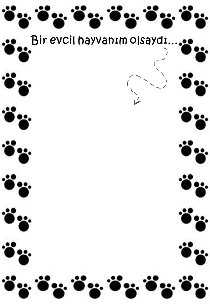 4 Ekim Hayvanlari Koruma Gunu Etkinlik Hayvan Boyama Sayfalari