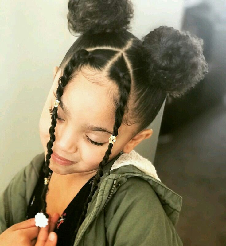 Pin By Sassy Sue On Angels Black Girl Natural Hair Black Kids Hairstyles Kids Hairstyles