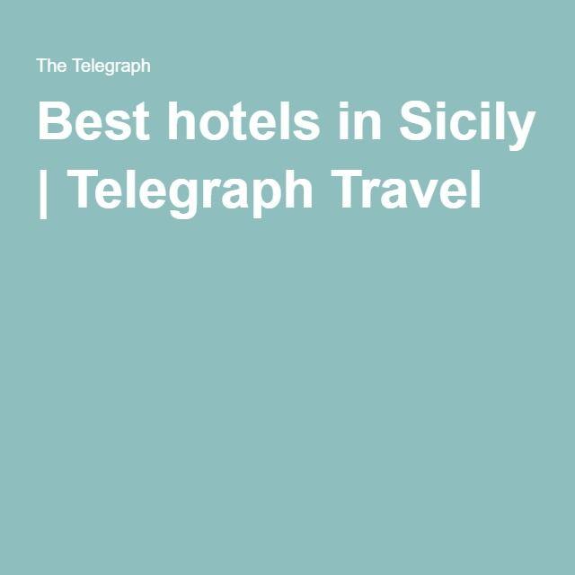Best hotels in Sicily | Telegraph Travel