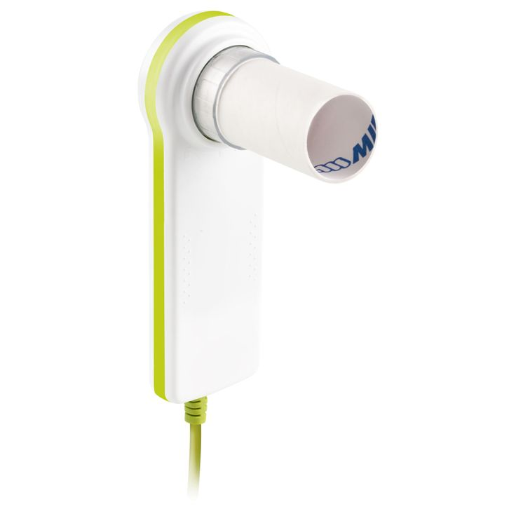 Minispir Light is a PC based #spirometer, that comes with a light version of WinspiroPRO PC Software. Easy data export also via email, OEM development Kit available.