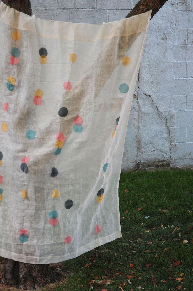 Polka Dot Curtain