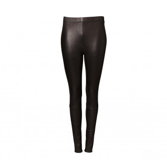 LEATHER PANTS | worth their price (for a good quality pair) as you can literally wear these every day during winter - and look instantly cool in the process.