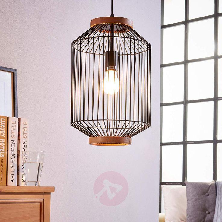 La lámpara suspendida Ceris tiene una forma de jaula industrial que dará un toque estupendo a tu hogar.  Descúbrela en Lampara.es con la Ref.: 9620882!