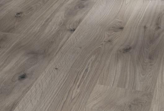 "Parador Laminate Oak Flooring ""Basalt Grey"", Natural Grade 8x194mm 
