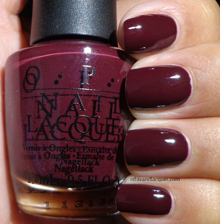 OPI - We'll Always Have Paris in purple by mistake? Gone?  thinner