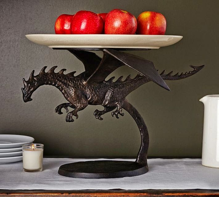 Dragon Cake Stand Pottery Barn