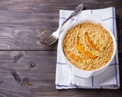 Crumble de courge muscade et patate douce