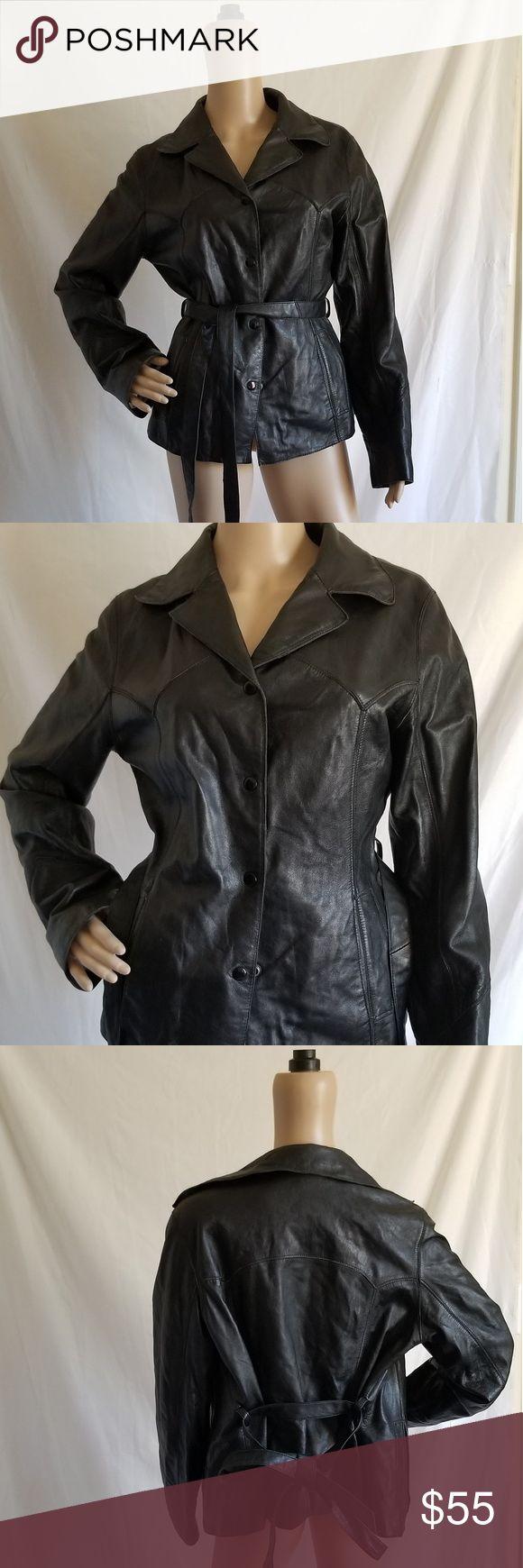 Vintage Maxima Wilsons Leather Jacket Women's Stylish